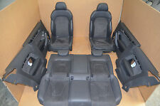 Audi A5 S5 8T Coupe Lederausstattung Exclusiv Schwarz Leder Sitz Leather Seat