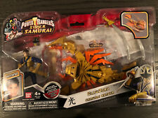 Power Rangers Clawzord & Antonio Samurai Ranger NEW!!   Retired