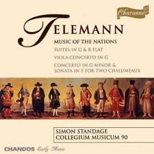 Telemann: Music of the Nations - suites; concerti & sonata, , Good CD