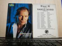 NO CD/LP - VASCO ROSSI CARTOLINA NUOVA cm 10 x cm 15 pubblicita' tour 1987