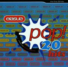 ERASURE ‎– Pop! - The First 20 Hits CD synth-pop YAZOO, ANDY BELL
