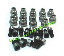 Linkage Balls stainless  and screws for Kapom450 ,T-rex 450 and other