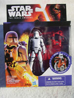 STAR WARS THE FORCE AWAKENS 3.75 INCH ARMOR UP FIRST ORDER FLAMETROOPER FIG MIP!