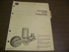 12773 John Deere Parts Catalog Pc-841 Flexi Planter Flexi-planter 70