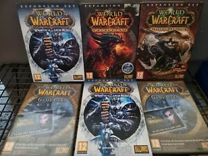 World of Warcraft Expansion Sets Bundle - WOW DLC Collection