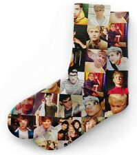 One Direction Squares Socks Free First Class Shipping!