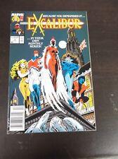 1988 EXCALIBUR COMIC BOOK # 1  MARVEL