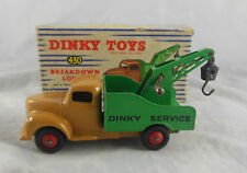 Dinky toys 430 Breakdown Lorry Commer Chassis fawn, Green Rear Original & Superb