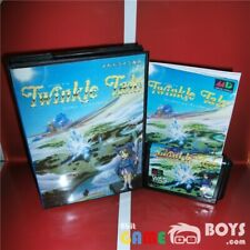Twinkle Tale Game Cartridge SEGA Mega Drive Japan Japanese Boxed Manual NTSC-J