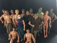 """Lot Of 15 12"""" Inch 1:6 Scale Action Figures GI JOE 21st Century Toys Power Team"""