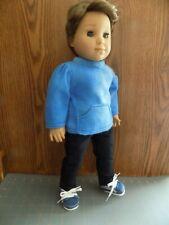 "Hand made American girl 18"" Boy or Girl Doll fleece pant set"