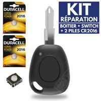 ➤➤ KIT Réparation ➤➤ Coque Clé Boitier de Télécommande Pour Plip RENAULT Laguna