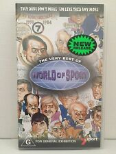 THE VERY BEST OF WORLD OF SPORT~RON CASEY+ LOU RICHARDS+ SAM NEWMAN ~ VHS VIDEO