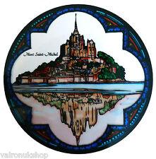 COLORATO VETRO FINESTRA ARTE-STATICO aggrapparsi Decorazione-St Michael Mount Francia
