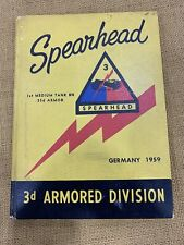 3rd Armored dvision 33rd armor battalion 1959 yearbook with Creighton Abrams