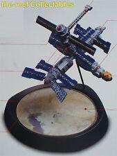 Estación espacial rusa Mir 1:700 escala 4 Piezas Kit Modelo PINTADO DIORAMA Kaiyodo