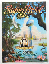 Super Bowl XXXL Packers vs. Patriots January 26, 1997 Program DM76236