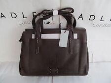 "Radley leather large Dark Brown ""Barnsley"" bag - BNWT £229"