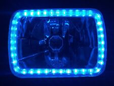 Ford F100 F150 F250 F350 Bronco Hilux MK Patrol Triton Blue Angel Halo Headlamps
