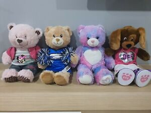 Build A Bear Bulk Lot Collection Plush Teddy