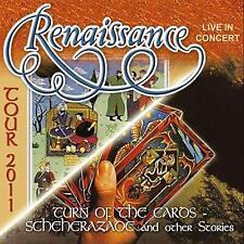 Renaissance - Turn Of The Caros CD New/Sealed 2CD + DVD Set