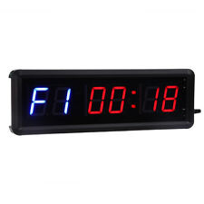 "1.5"" Digital GYM Crossfit Training Timer Stopwatch Count Down/Up Clock + Remote"