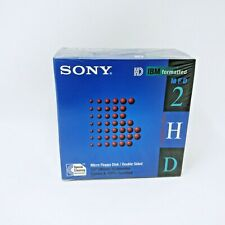 SONY Floppy Disks ,Diskettes 2HD /1.44 MB  NEW SEALED~ 10 Pack