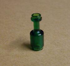 Lego Flasche durchsichtig grün Bottle Zubehör für Figuren Neu