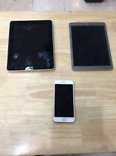 Iphone 6S, Ipad 1st Gen & Samsung Tablet - Possibly Locked