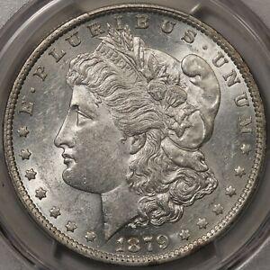 1879-O Morgan Dollar PCGS & CAC AU-58 - Frosty and Flashy!