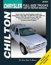 Repair Manual fits 1997-2001 Dodge Ram 2500 Ram 2500,Ram 3500 Dakota  CHILTON BO