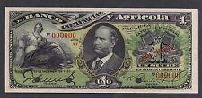 Ecuador El Banco Comercial Agricola 1 Sucre 28-12-1923 P126c  Specimen UNC