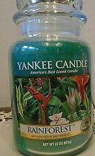 Yankee Candle   Rainforest  1 Single   22 oz.   Free Shipping