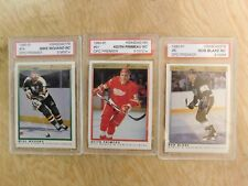 Lot of 7 KSA Graded 1990-91 Rookie Cards