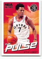2018-19 Panini Hoops The Pulse Insert TP-8 Kyle Lowry Toronto Raptors