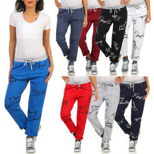 Damen Jogginghose Hose Fitness Sporthose Stretch Leggings Pants Sommer Jeggins