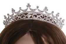 Elegant Wedding Bridal Tiaras Hair Austrian Crown Rhinestone Prom Pageant Party