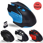 2.4GHz 3200DPI Wireless USB Optical Gaming Mouse Mice For Computer PC Laptop Lot