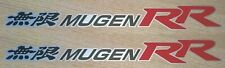 Honda Mugen Stickers Set - Mugen RR Side panel Decals Graphics - Civic Accord Si