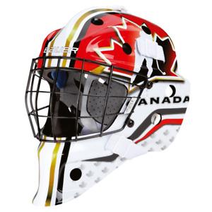 BAUER NME Street Torwart Maske Canada, Junior Einheitsgröße, Street/Eishockey,