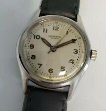 """Vintage 1940's Universal Geneve """"Enversteel"""" Watch"""