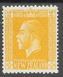 NEW ZEALAND SG 439a MINT HINGED 1916