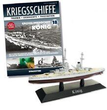 DeAgostini 1:1250 German Battleship - SMS Koenig, #DAKS18