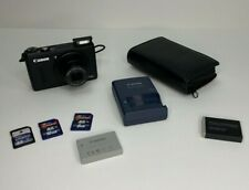 Canon PowerShot S100 Digital Camera (Black) - Excellent Condition with Extras