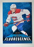 2019-20 Series 2 Fluorescence Blue #F-32 Nick Suzuki /50 - Montreal Canadiens