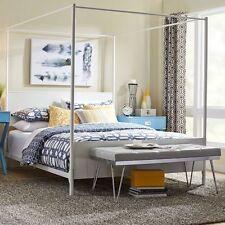 Metal Canopy Beds Frames eBay
