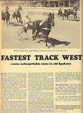 Horse Racing at the Fastest Track in the West - Spokane+Needham*, Kalez,Paterson