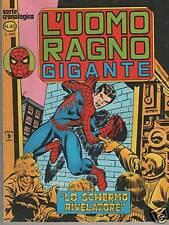 L' UOMO RAGNO GIGANTE  # 40   LO SCHERMO RIVELATORE Corno 1979
