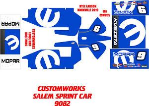 CUSTOMWORKS SALEM SPRINT CAR 9082 MOPAR CUSTOM THEME WRAP KIT