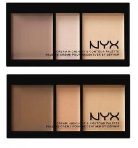 NYX Cream Highlight & Contour Palette ~ Light, Medium OR Deep